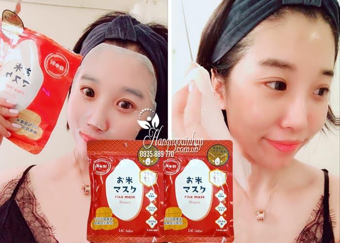 Mặt nạ IAC - Labo Rice Mask 10 miếng chiết xuất từ gạo 2