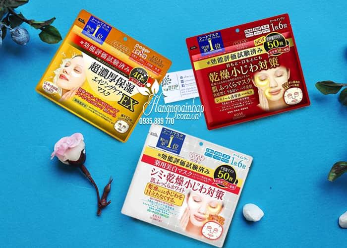 Mặt nạ Kose Clear Turn 50 miếng Nhật Bản - dưỡng da hoàn hảo 1