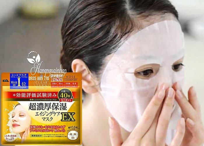 Mặt nạ Kose Clear Turn 50 miếng Nhật Bản - dưỡng da hoàn hảo 2