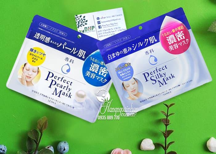 Mặt nạ Shiseido Senka Perfect Silky Mask 28 miếng Nhật Bản 1