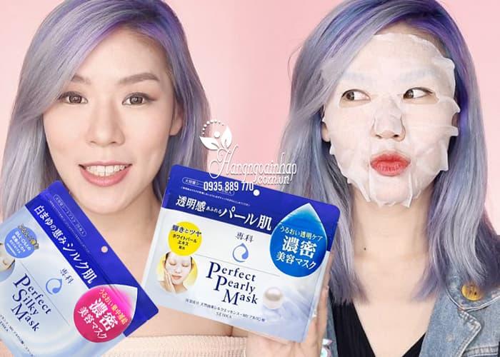 Mặt nạ Shiseido Senka Perfect Silky Mask 28 miếng Nhật Bản