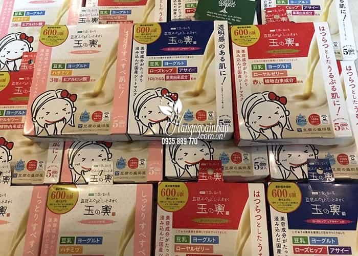 Mặt nạ Tofu Moritaya Soy Milk Yogurt Mask Sheet hộp 5 miếng 7