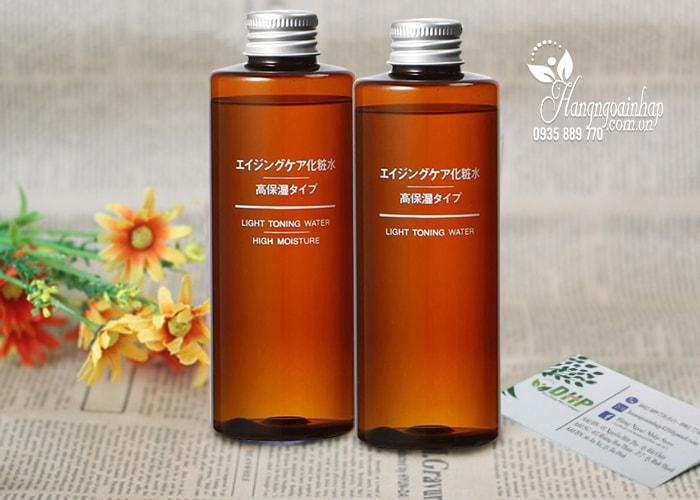 Nước hoa hồng chống lão hóa, làm sáng da Muji 200ml Nhật Bản
