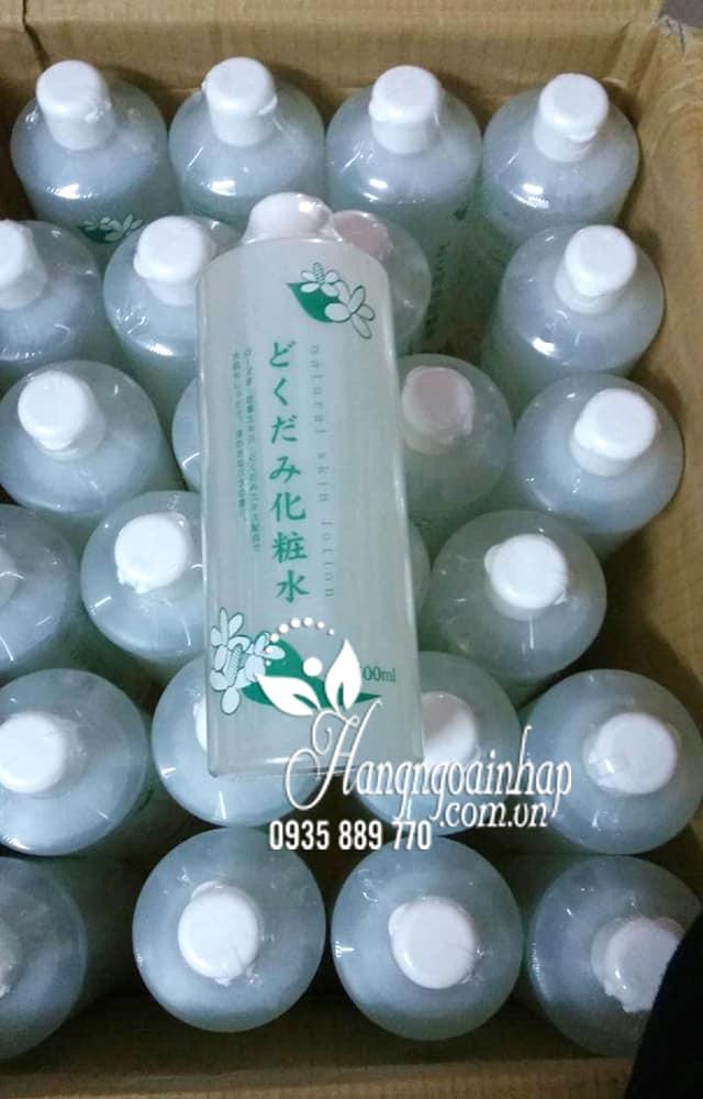 Nước hoa hồng diếp cá Dokudami Natural Skin Lotion Nhật 10