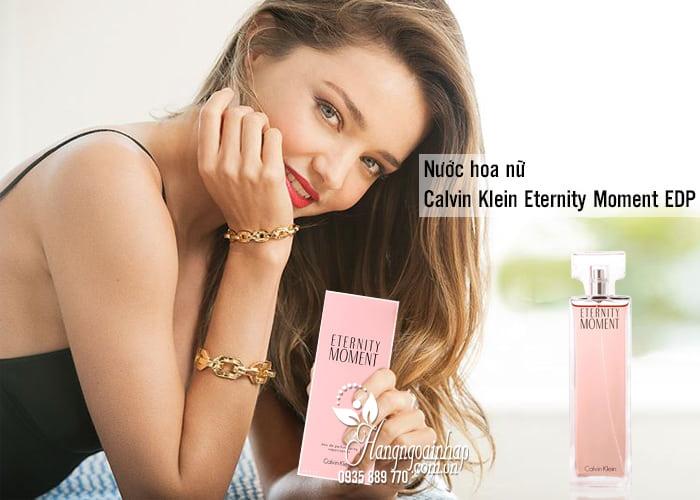 Nước hoa nữ Calvin Klein Eternity Moment EDP 100ml của Mỹ 1