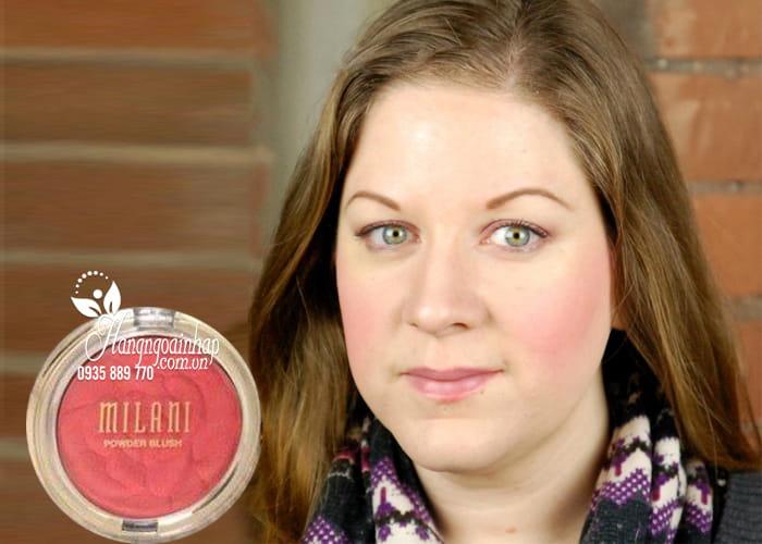 Phấn má hồng Milani Rose Powder Blush chính hãng Mỹ 7