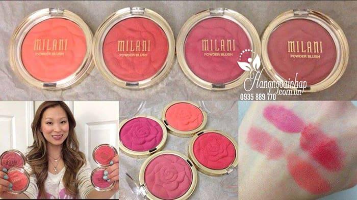 Phấn má hồng Milani Rose Powder Blush chính hãng Mỹ 4
