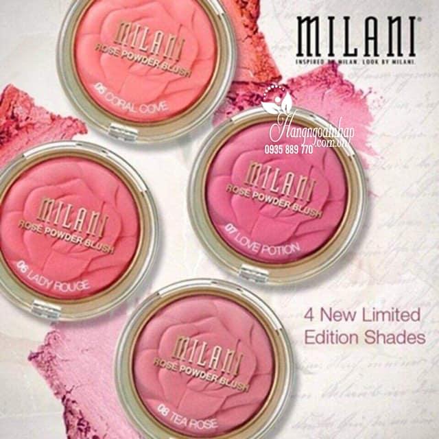Phấn má hồng Milani Rose Powder Blush chính hãng Mỹ1