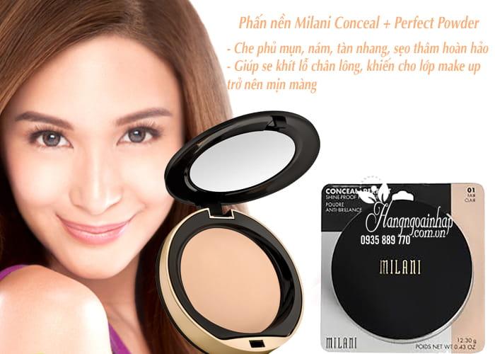 Phấn nền Milani Conceal + Perfect Powder chính hãng của Mỹ 4
