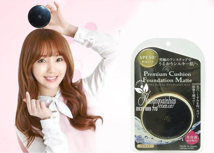 Phấn nước Tiara Girl Premium Cushion Foundation Nhật Bản 3