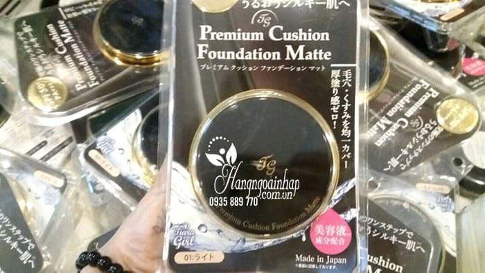 Phấn nước Tiara Girl Premium Cushion Foundation Nhật Bản 6