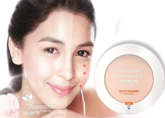 Phấn phủ cho da mụn Neutrogena SkinClearing Mineral Powder