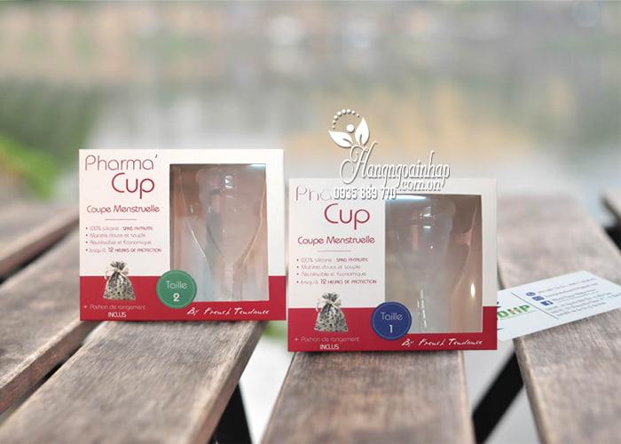 Cốc nguyệt san Pharma Cup Coupe Menstruelle của Pháp có 2 size: