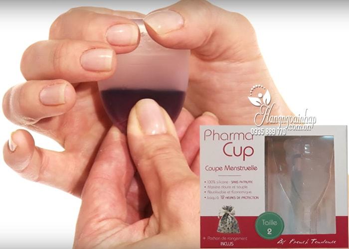 Cốc nguyệt san Pharma Cup Coupe Menstruelle của Pháp 2
