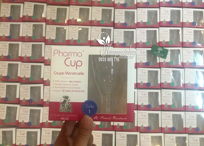 Cốc nguyệt san Pharma Cup Coupe Menstruelle của Pháp 6