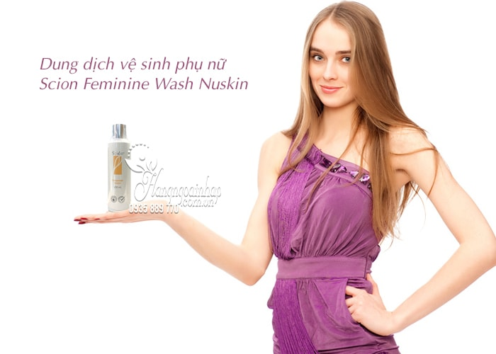 Dung dịch vệ sinh phụ nữ Scion Feminine Wash Nuskin 4