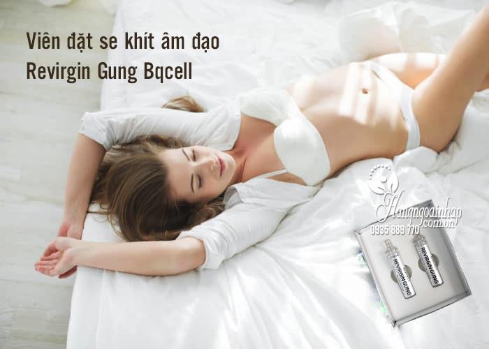 Viên đặt se khít âm đạo Revirgin Gung Bqcell của Hàn Quốc mẫu mới 2018 3