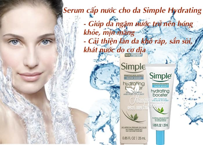 Serum cấp nước cho da Simple Hydrating Boost 25ml 3