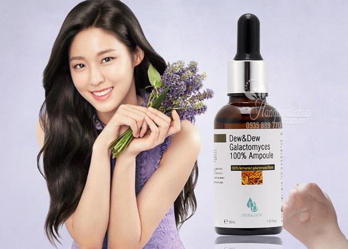 Serum dưỡng trắng Dew&Dew Galactomyces 100% Ampoule 30ml
