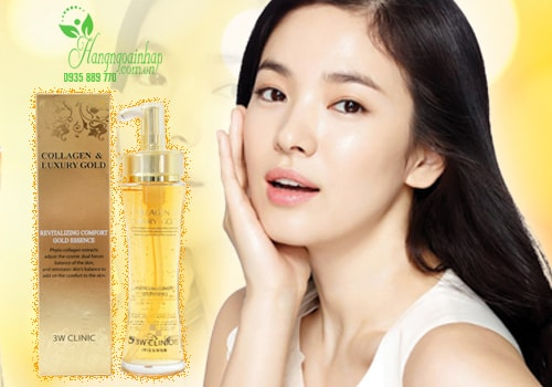 Serum dưỡng tái tạo da Collagen & Luxury Gold cao cấp 3W Clinic 150ml