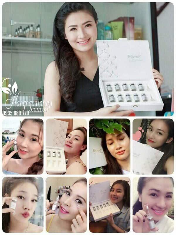 Serum Elravie Derma White Brightening Ampoule của Hàn Quốc 15
