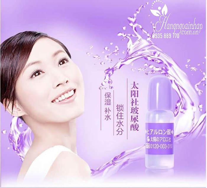 Serum HA Hyaluronic Acid Taiyou No Aloe 10ml của Nhật 2