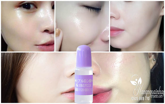 Serum HA Hyaluronic Acid Taiyou No Aloe 10ml của Nhật 4