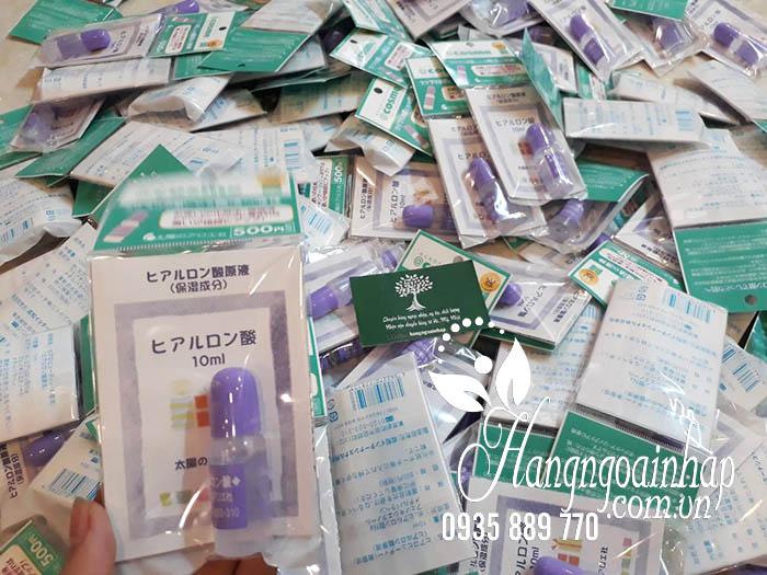 Serum HA Hyaluronic Acid Taiyou No Aloe 10ml của Nhật 5