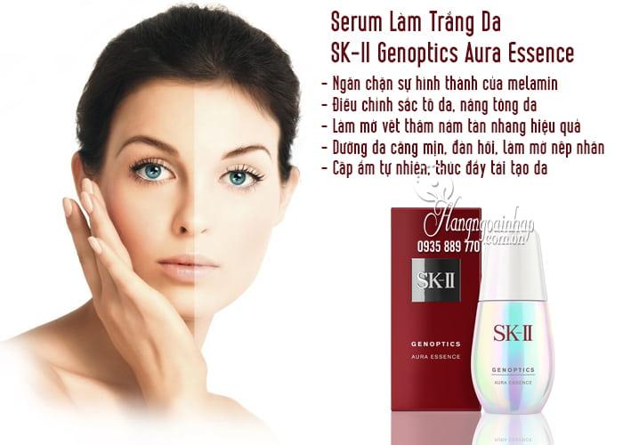 Serum Làm Trắng Da SK-II Genoptics Aura Essence 50ml 2