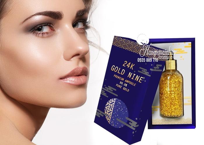 Serum vàng 24K Gold Nine Premium Ampoule 100ml Hàn Quốc 4