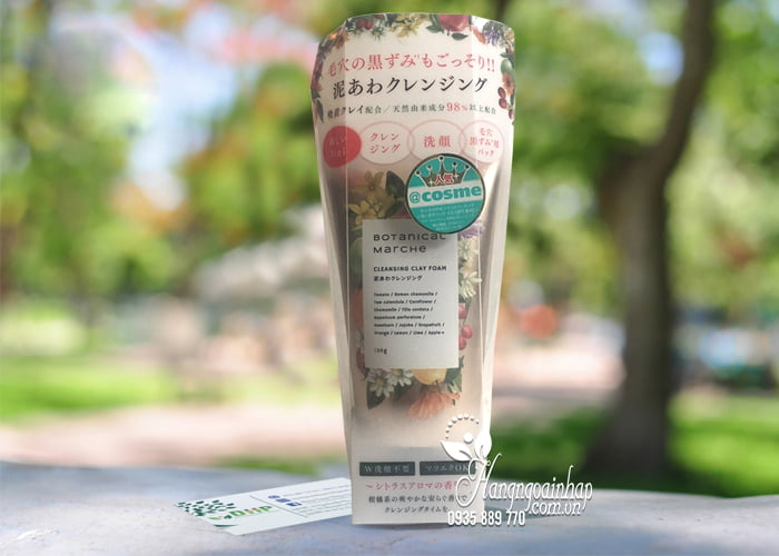 Sữa rửa mặt Botanical Marche Cleansing Clay Foam 3 in 1 1