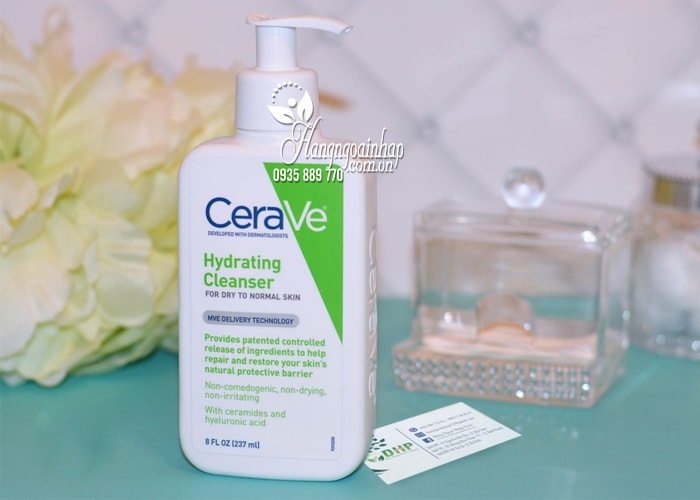 Sữa rửa mặt Cerave Hydrating Cleanser 237ml của Mỹ 1