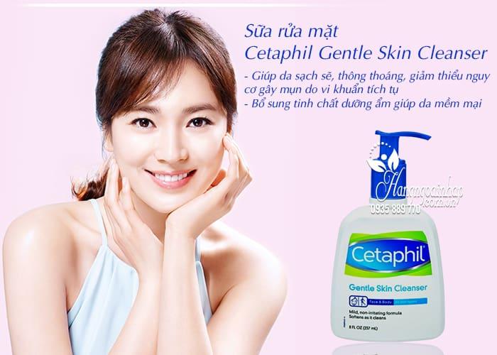 Sữa rửa mặt Cetaphil Gentle Skin Cleanser 237ml nhập từ Mỹ 3