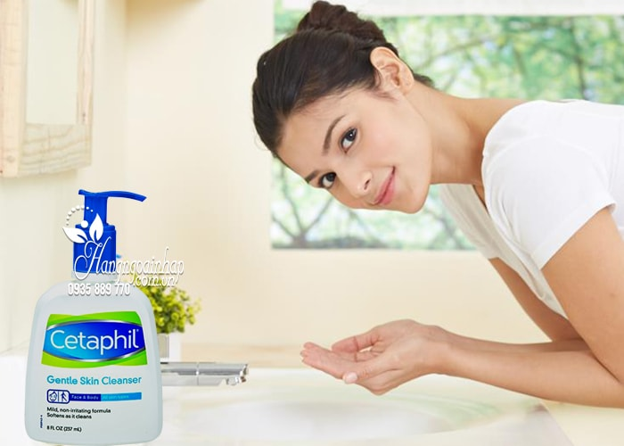 Sữa rửa mặt Cetaphil Gentle Skin Cleanser 237ml nhập từ Mỹ 4