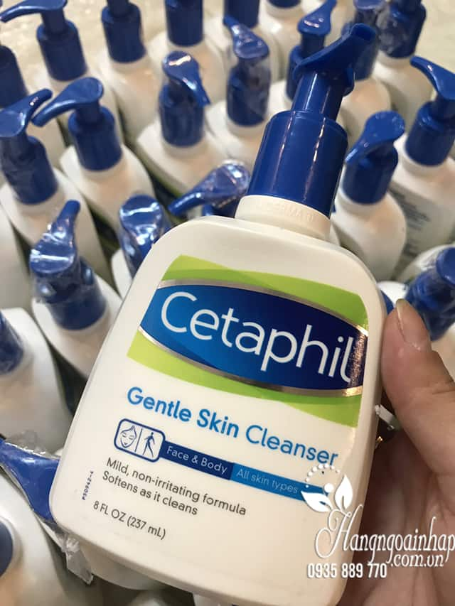 Sữa rửa mặt Cetaphil Gentle Skin Cleanser 237ml nhập từ Mỹ 7