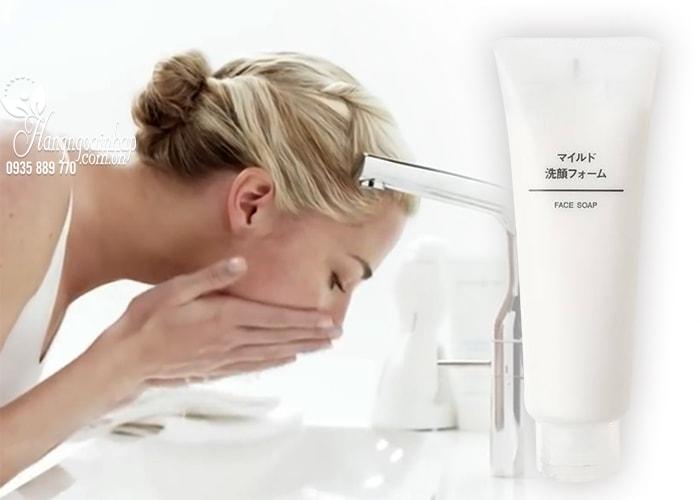 Sữa rửa mặt Muji Face Soap 200g của Nhật