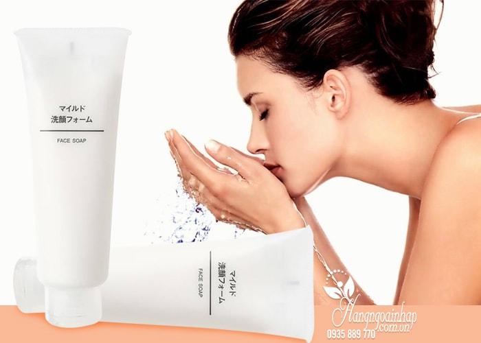 Sữa rửa mặt Muji Face Soap của Nhật – Hàng nội địa