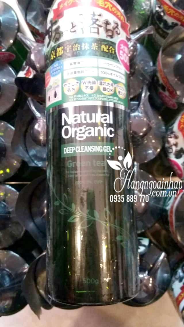 Sữa rửa mặt Natural Organic Deep Cleansing Gel 500g của Nhật 1