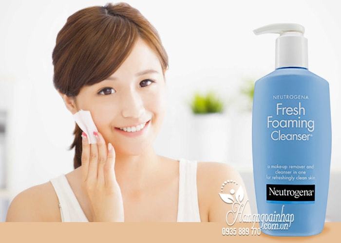 Sữa rửa mặt tẩy trang 2 in 1 Neutrogena Fresh Foaming Cleanser 4