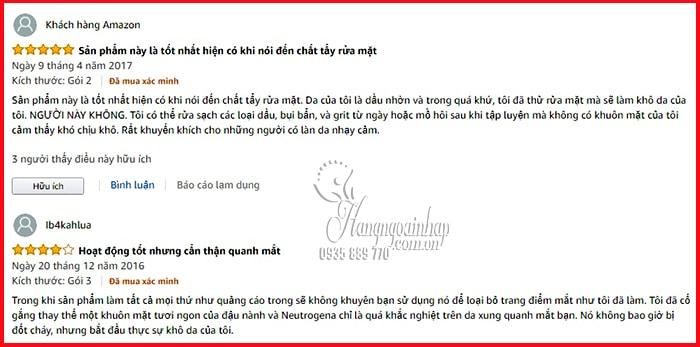 Sữa rửa mặt tẩy trang 2 in 1 Neutrogena Fresh Foaming Cleanser 5
