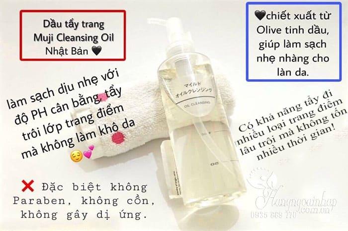 ầu tẩy trang Muji Cleansing Oil 200ml