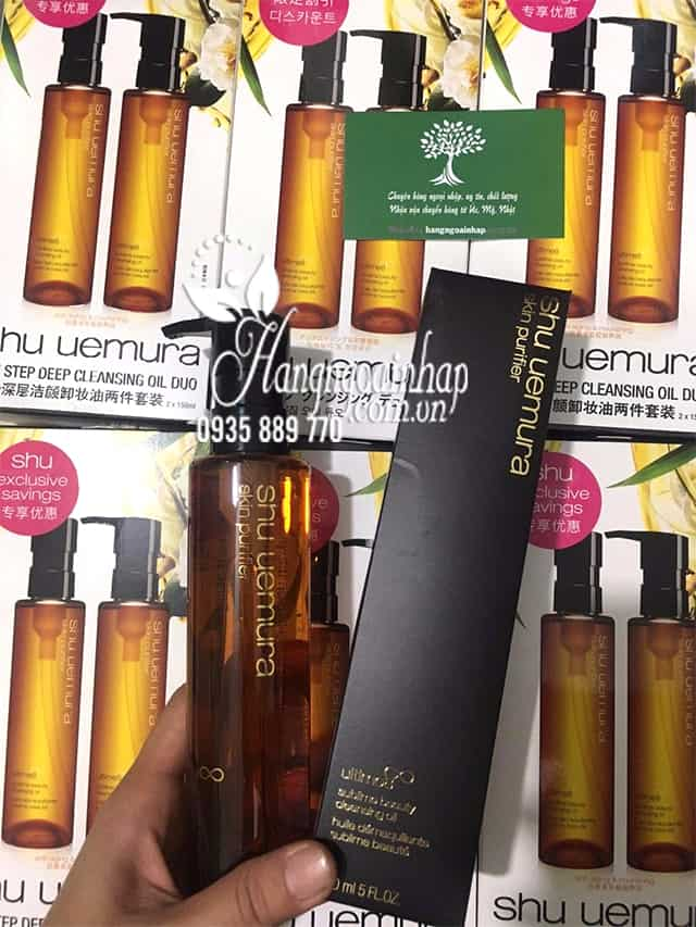 Dầu Tẩy Trang Shu Uemura Ultime8 Sublime Beauty Cleansing Oil 6