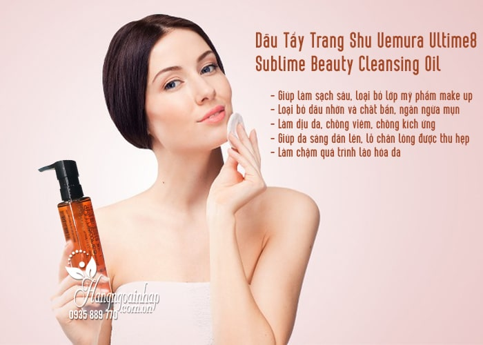 Dầu Tẩy Trang Shu Uemura Ultime8 Sublime Beauty Cleansing Oil 4