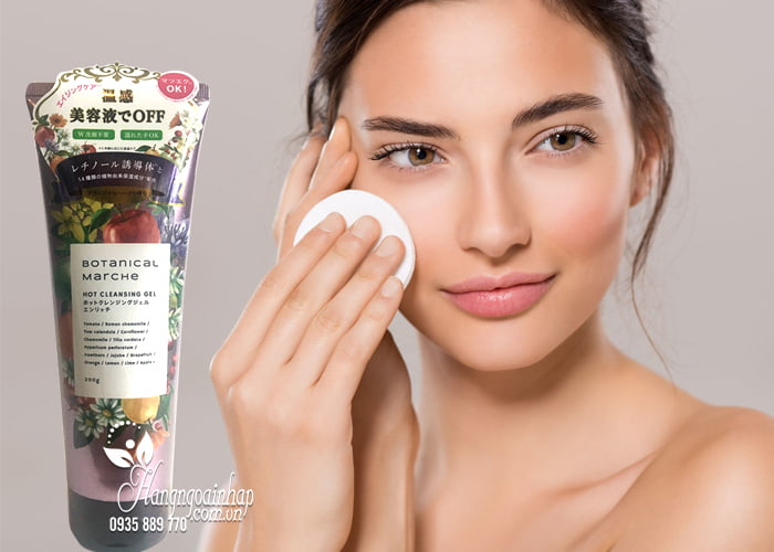 Gel tẩy trang Botanical Marche Hot Cleansing Gel 200g 2