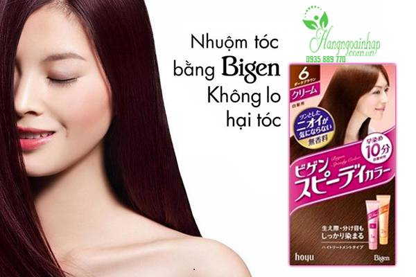 Thuốc nhuộm tóc thảo dược Bigen Nhật Bản 80g