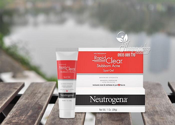 Gel trị mụn Neutrogena Rapid Clear Stubborn Acne Spot Gel 28g 1