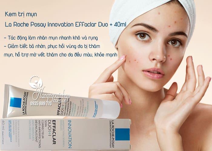 Kem trị mụn La Roche Posay Innovation Effaclar Duo + 40ml 2