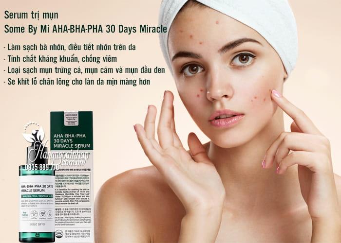 Serum trị mụn Some By Mi AHA-BHA-PHA 30 Days Miracle 50ml 3