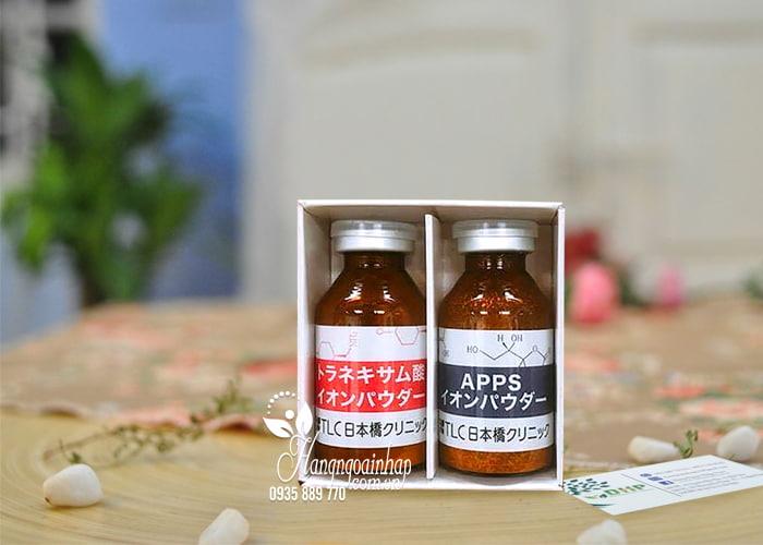 Cặp Ion Vitamin C và Tranexamic Acid trị nám dưỡng trắng da 1