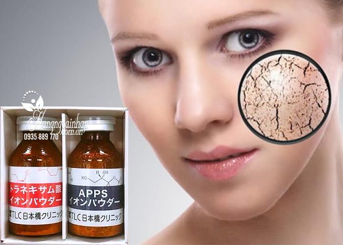 Cặp Ion Vitamin C và Tranexamic Acid trị nám dưỡng trắng da 4
